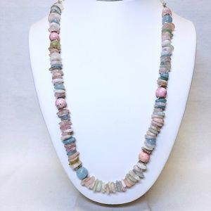 NWT Semiprecious Stone One-of-A-Kind Necklace